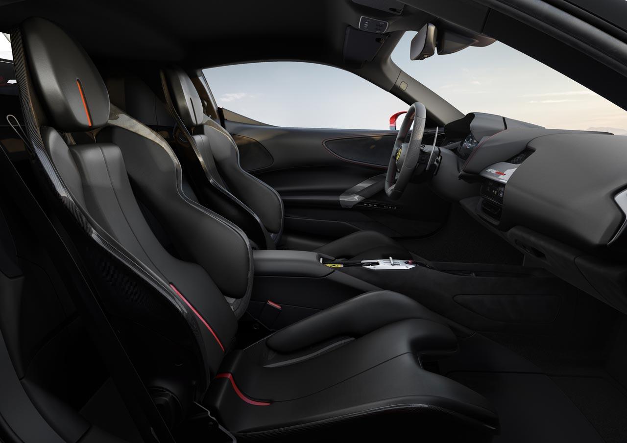 Interior Ferrari SF90 Stradale