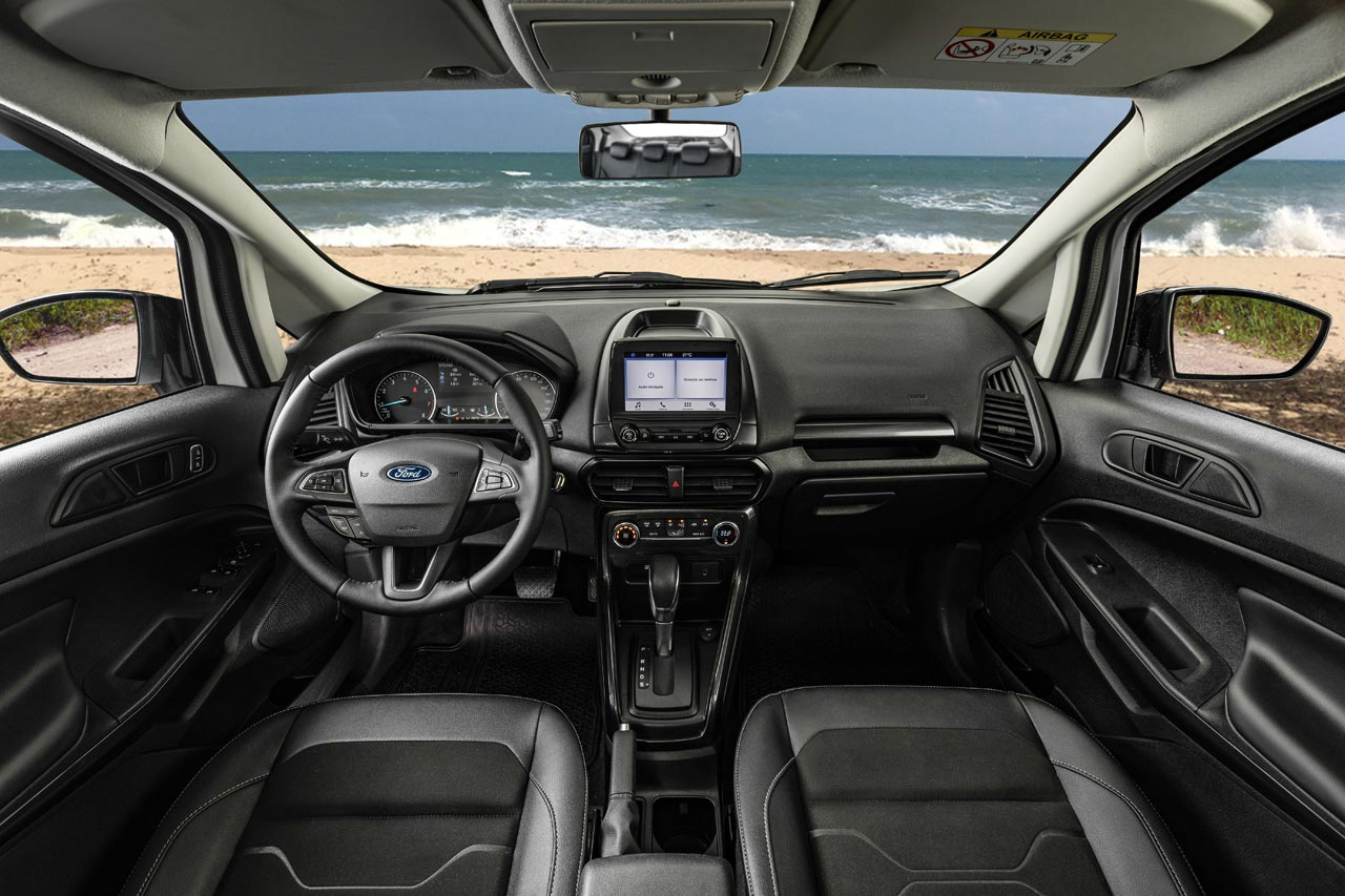 Ford-EcoSport-FreeStyle-2020-interior - Mega Autos
