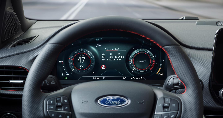 Tablero digital Ford Puma 2020