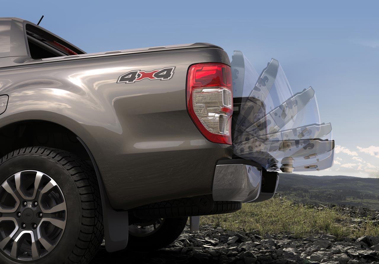 Portón caja Ford Ranger 2020