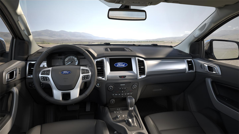 Interior Nueva Ford Ranger 2020