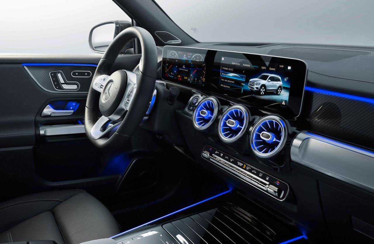 Interior Mercedes-Benz GLB 2020