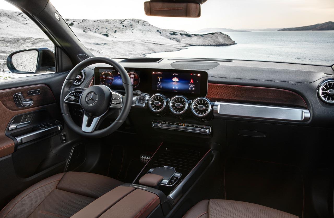 Interior nuevo Mercedes-Benz GLB