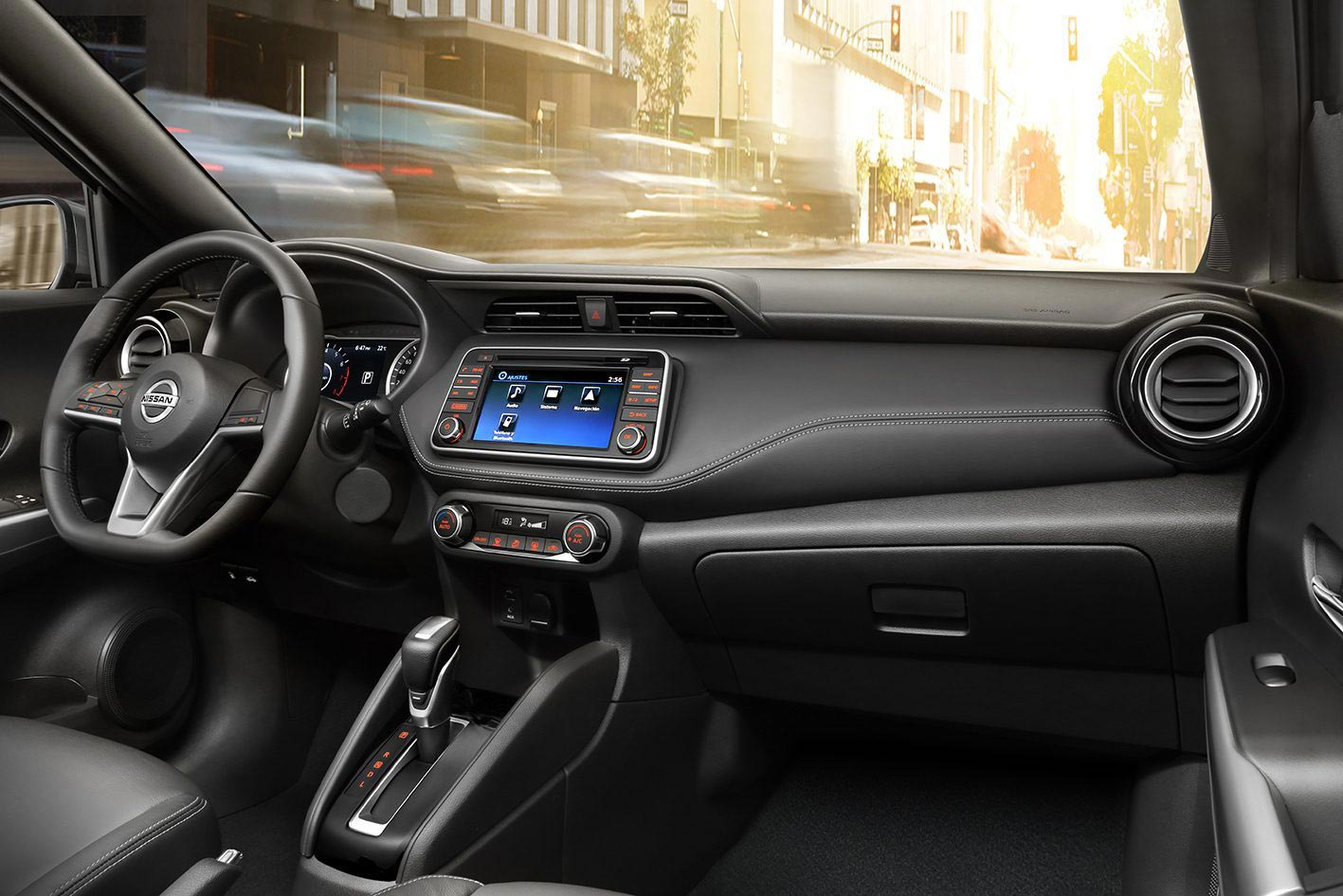 Interior Nissan Kicks 2019