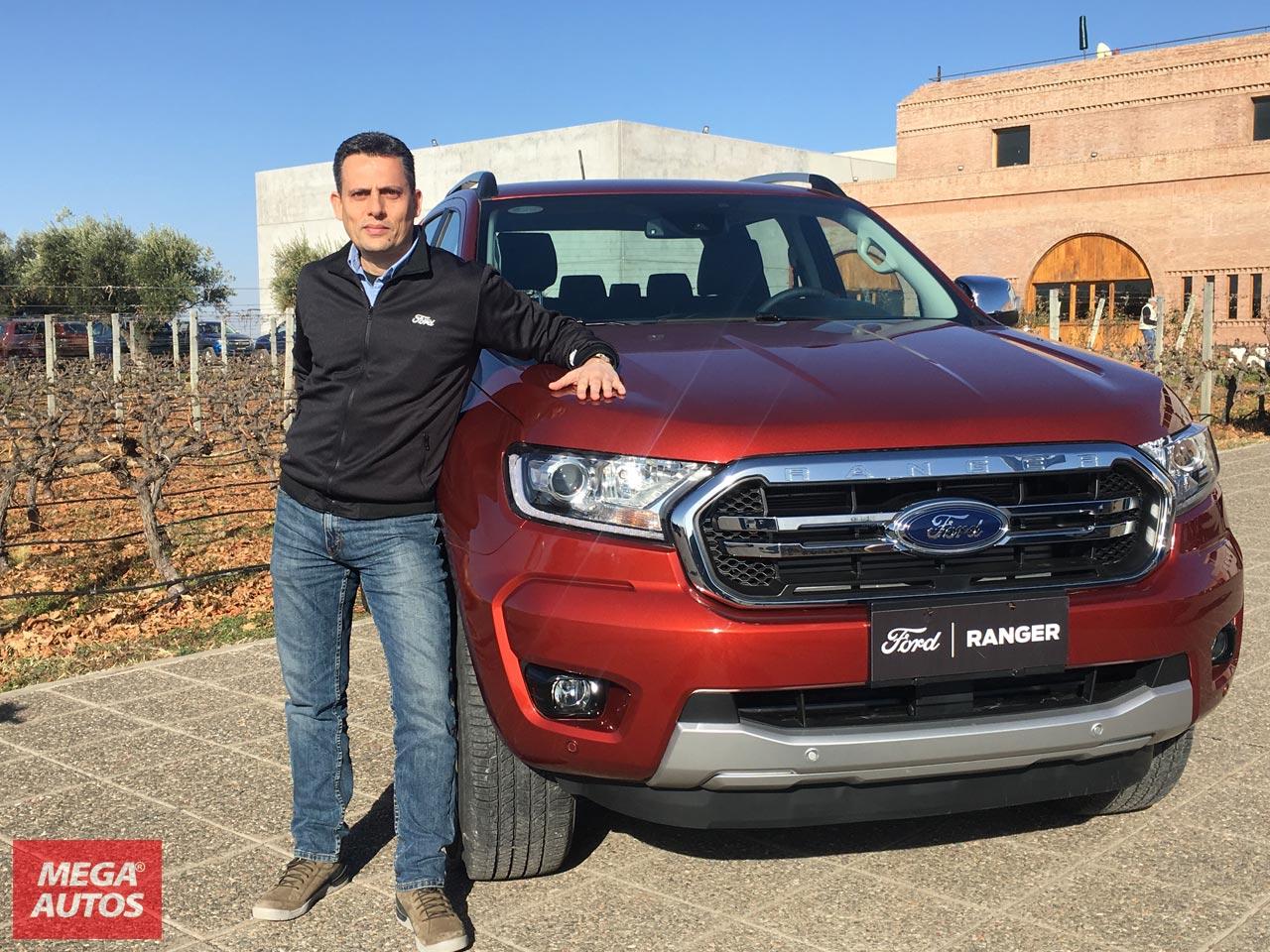 Gustavo Oneto, Gerente de Desarrollo de Ingeniería de Ford Argentina