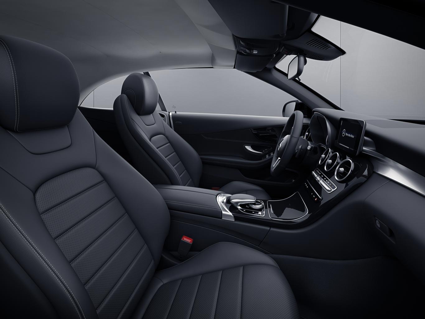 Interior Mercedes-Benz Clase C Cabrio