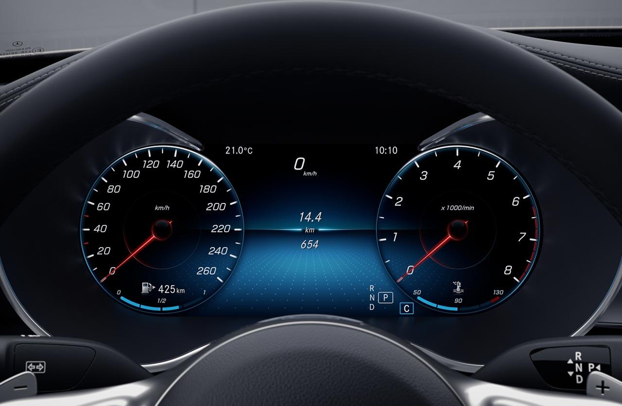 Tablero Mercedes-Benz Clase C Cabrio