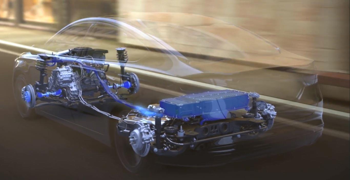 Plataforma nuevo Ford Mondeo híbrido