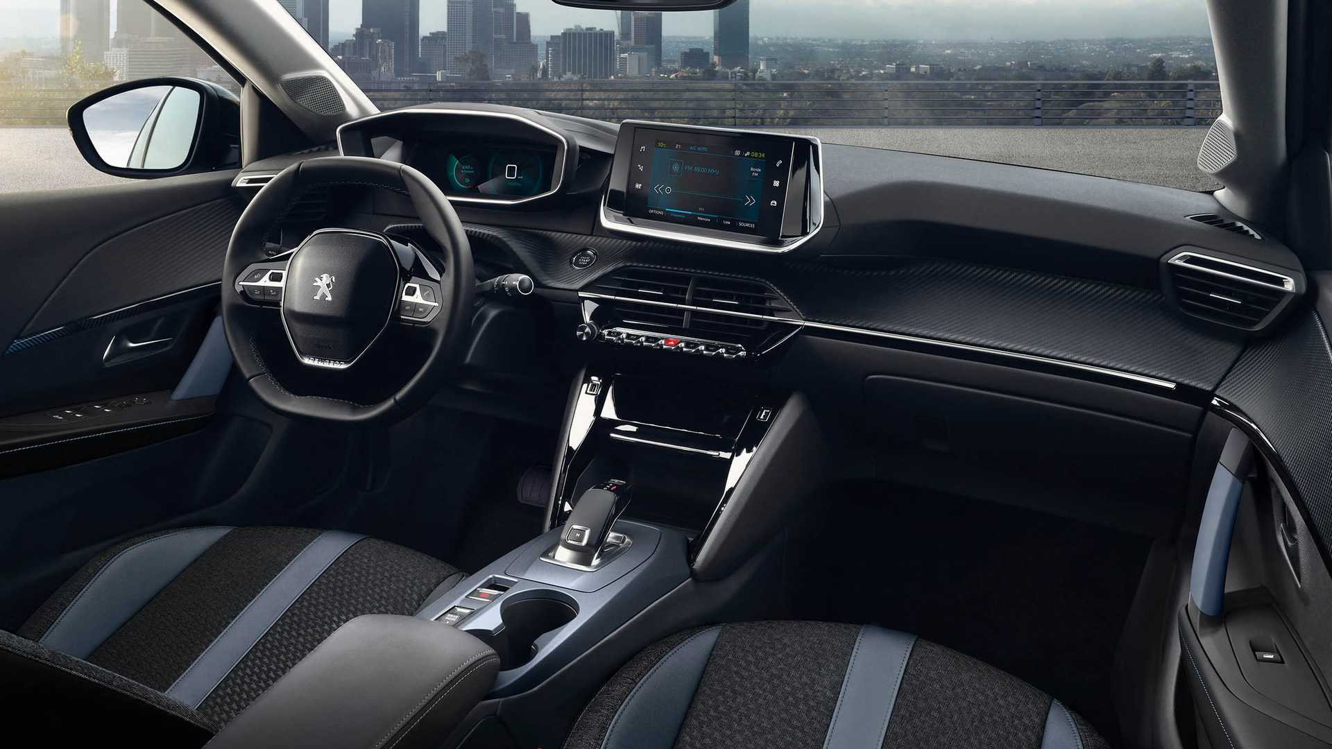 Interior Nuevo Peugeot 2008 2020