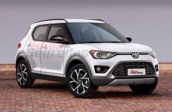 Un SUV pequeño de Toyota para la región