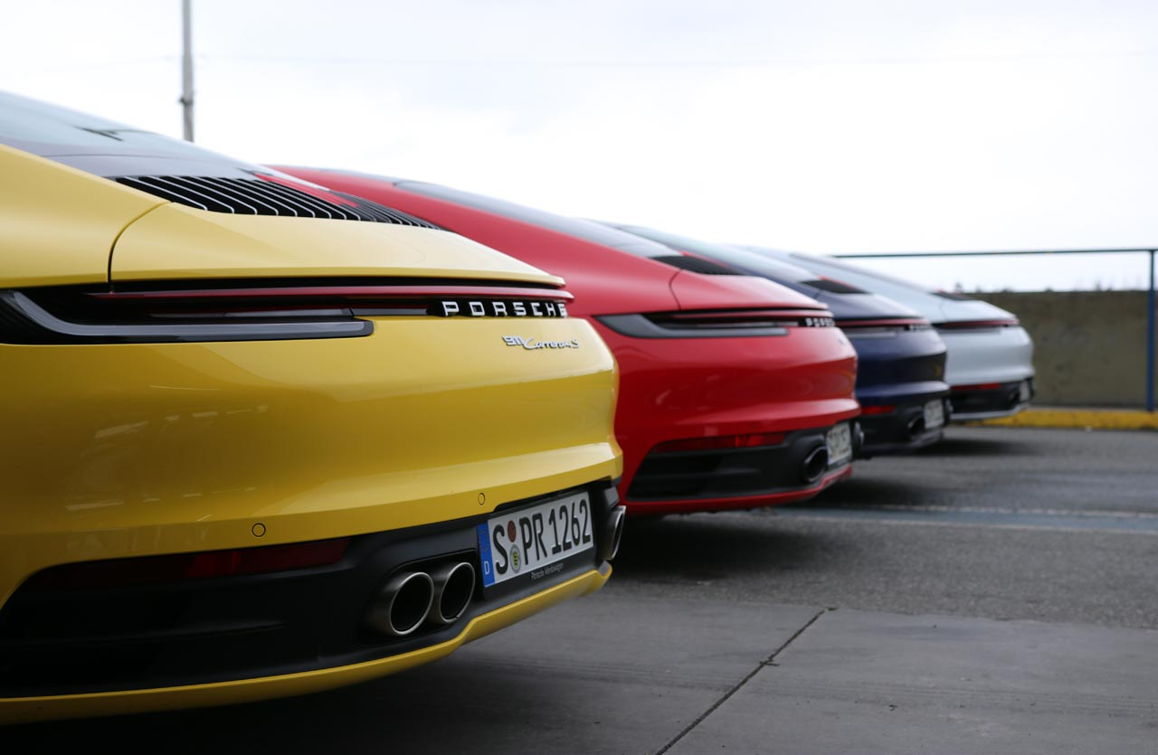 Nuevo Porsche 911 (992) gama