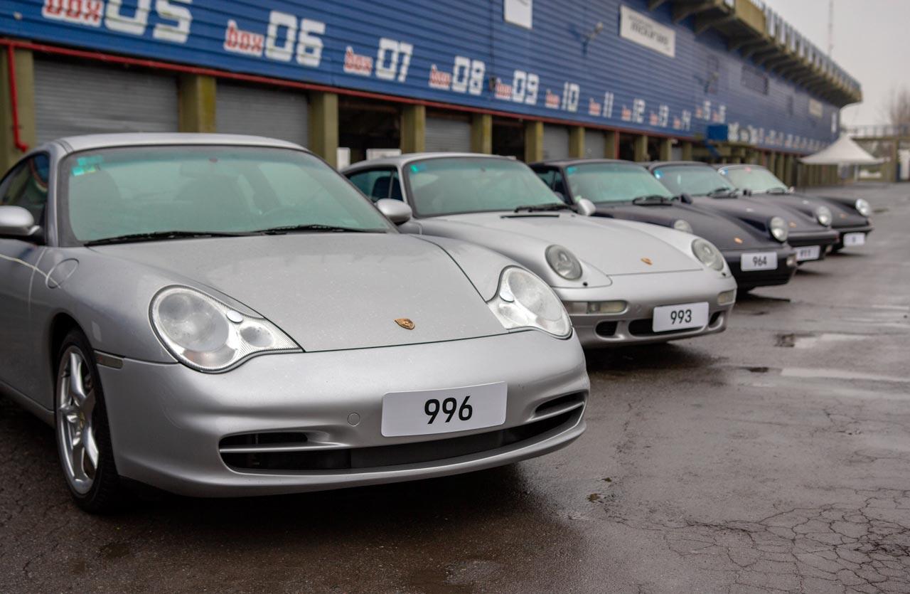 Porsche 911 generaciones
