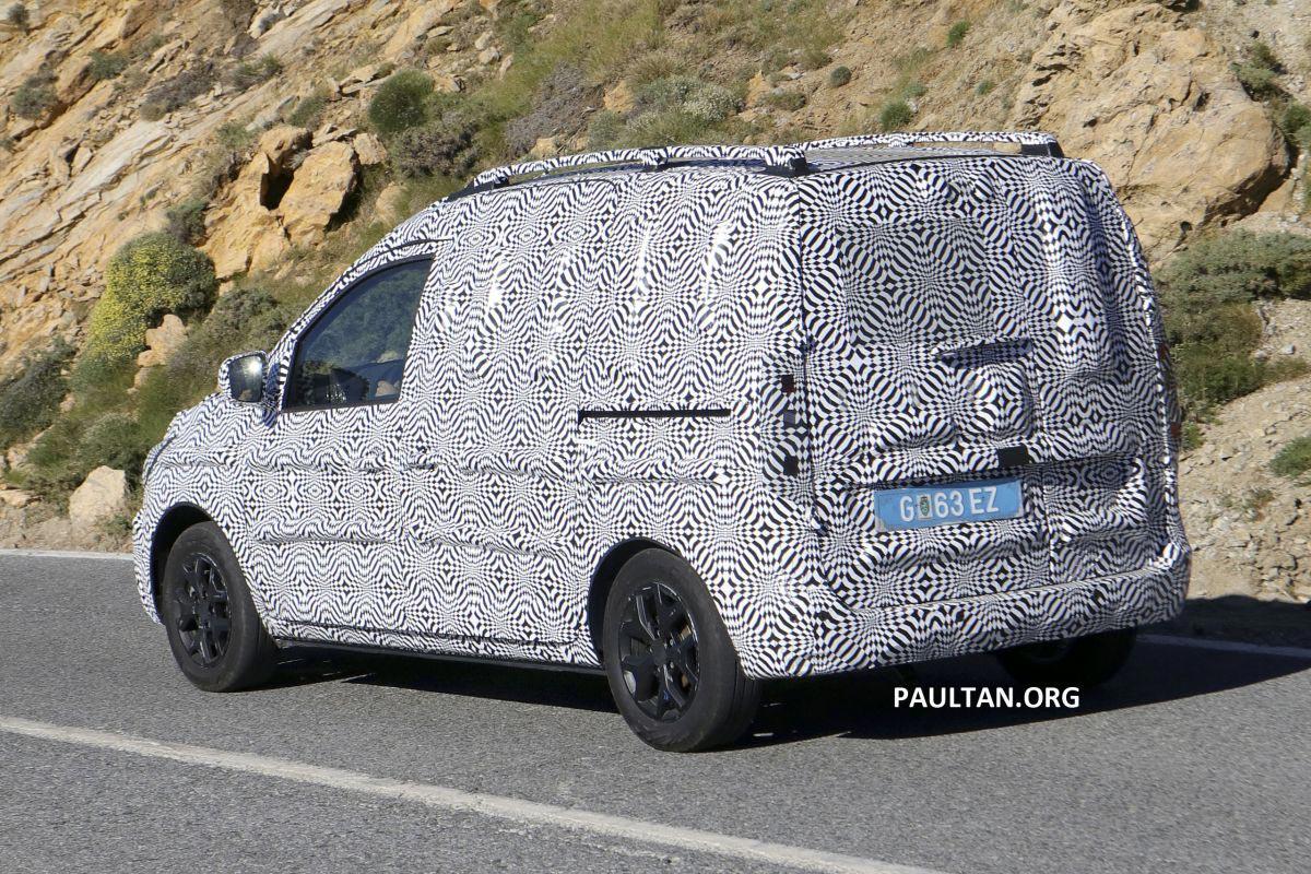 Renault Kangoo 2020 foto espía