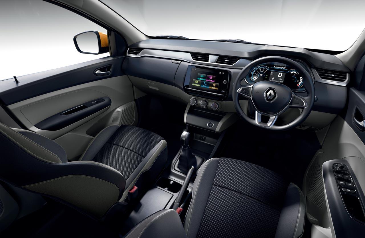 Interior Nuevo Renault Triber