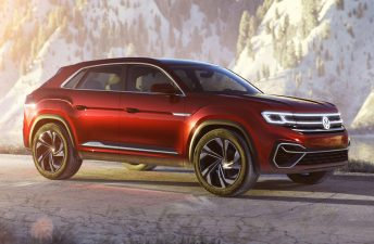 Se viene el SUV coupé de Volkswagen