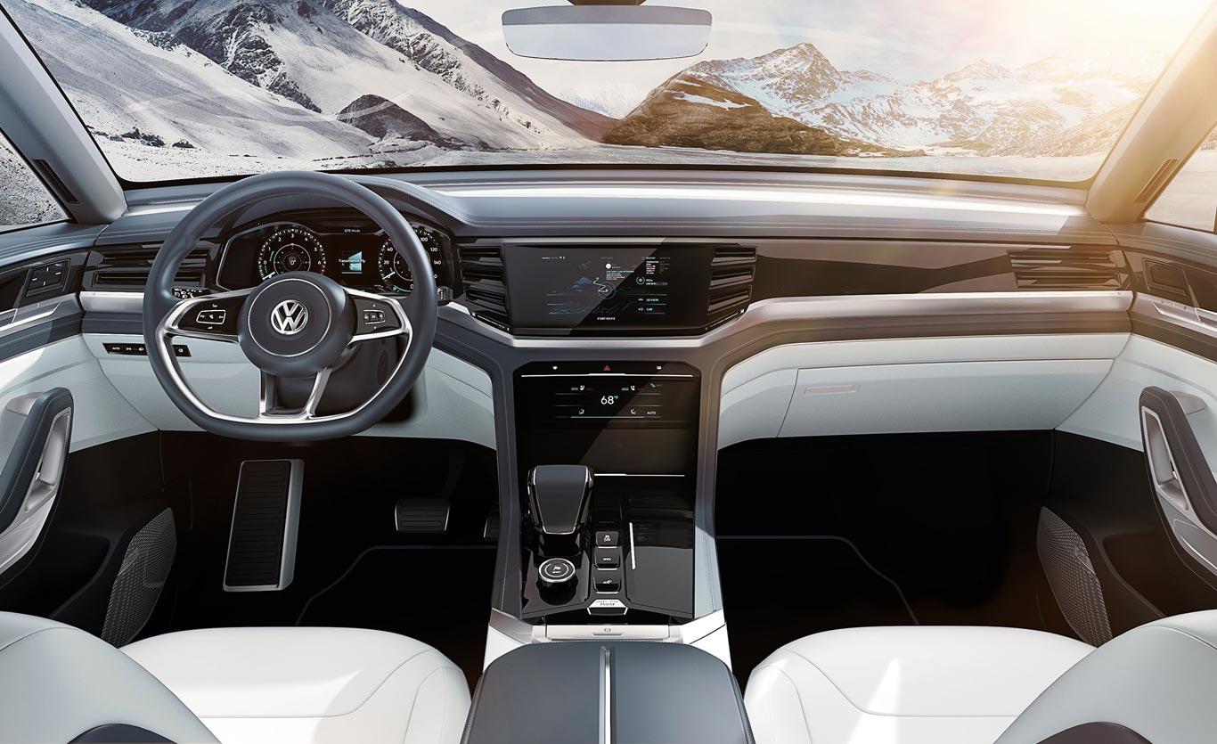 Interior Volkswagen Atlas Cross Sport