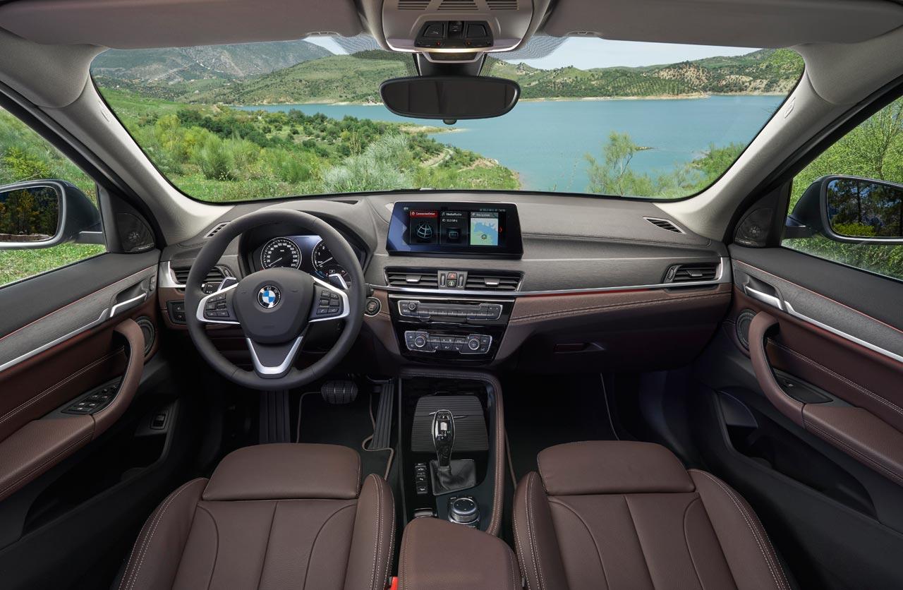 Interior nuevo BMW X1 2020
