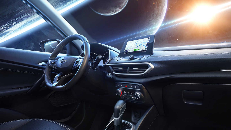 Interior Nueva Chevrolet Tracker 2020