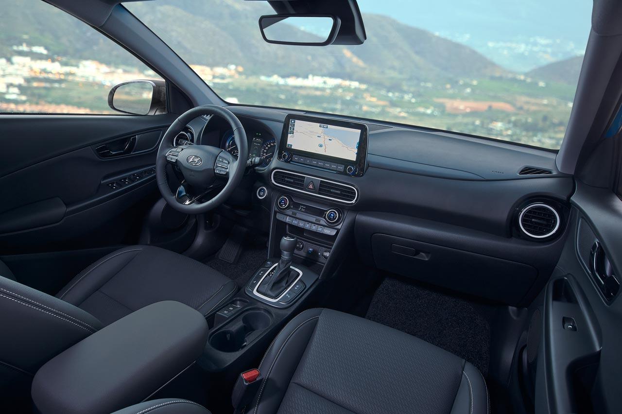 Interior Hyundai Kona Híbrido
