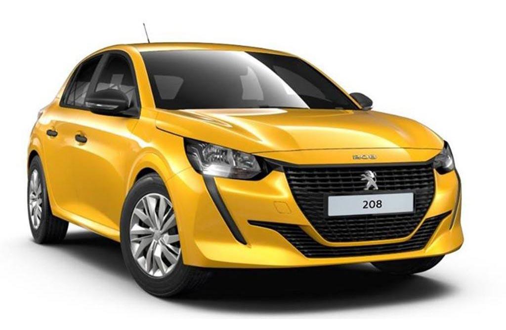 Sin tanto glamour: así es la versión más barata del nuevo Peugeot 208