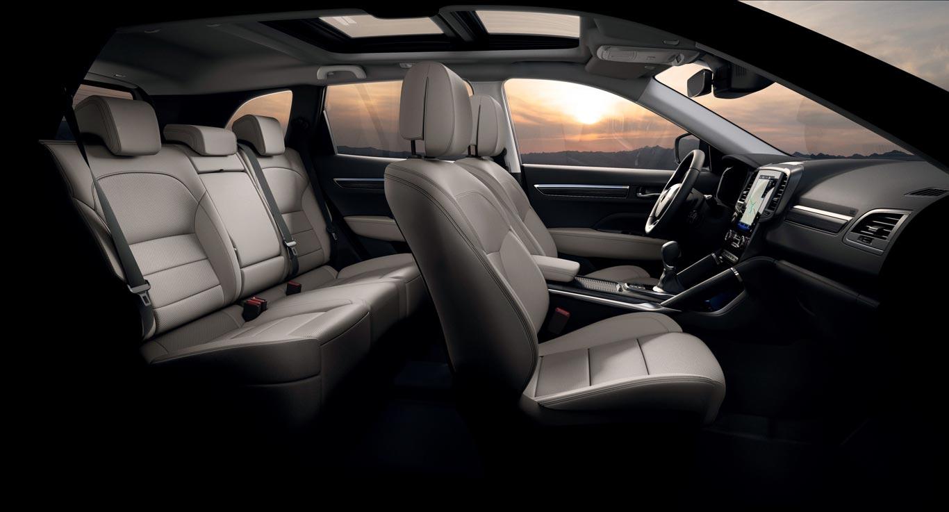 Interior Renault Koleos 2020