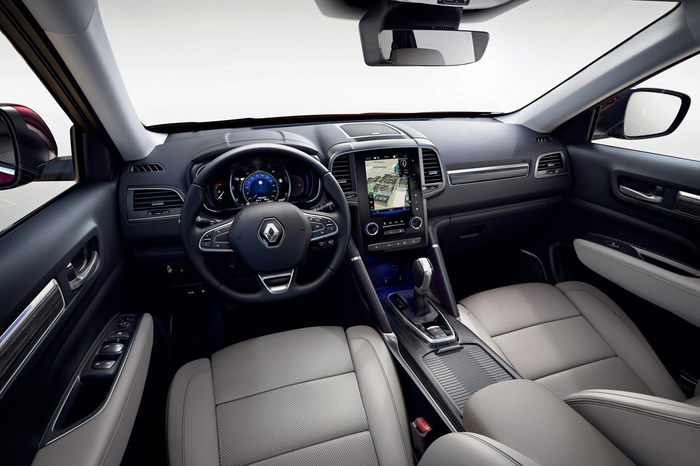 Interior nuevo Renault Koleos 2020