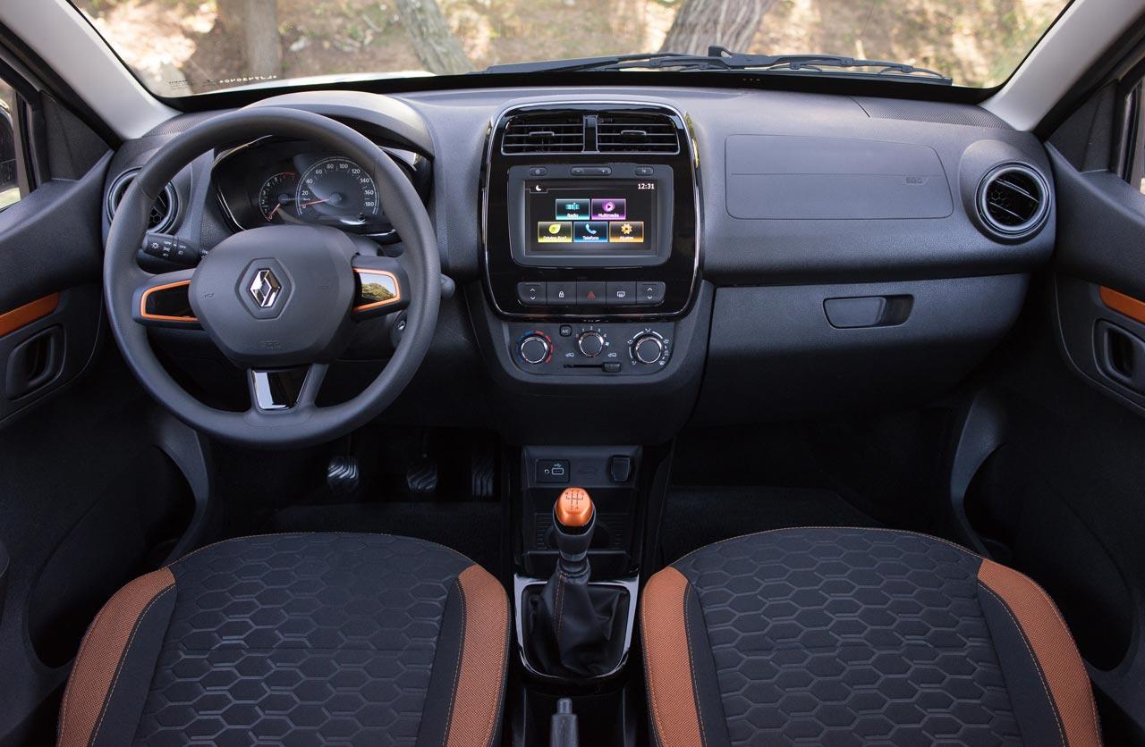 Interior Renault Kwid Outsider