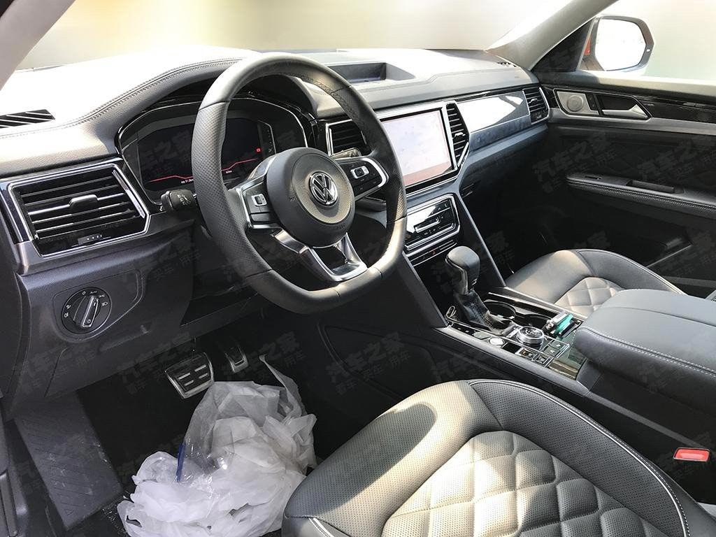 Interior Volkswagen Atlas Cross Sport Coupé
