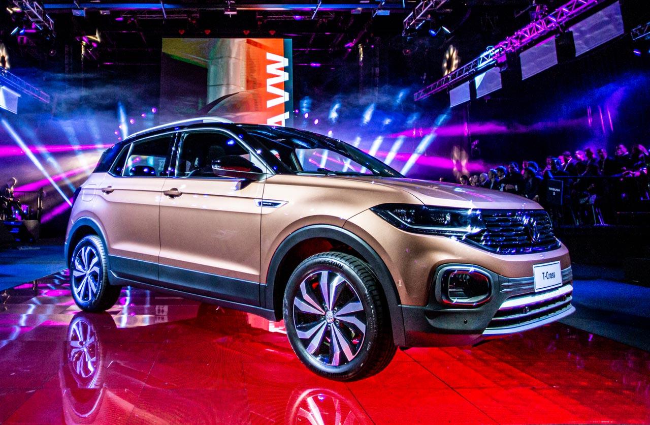 Volkswagen lanzó el T-Cross en Argentina