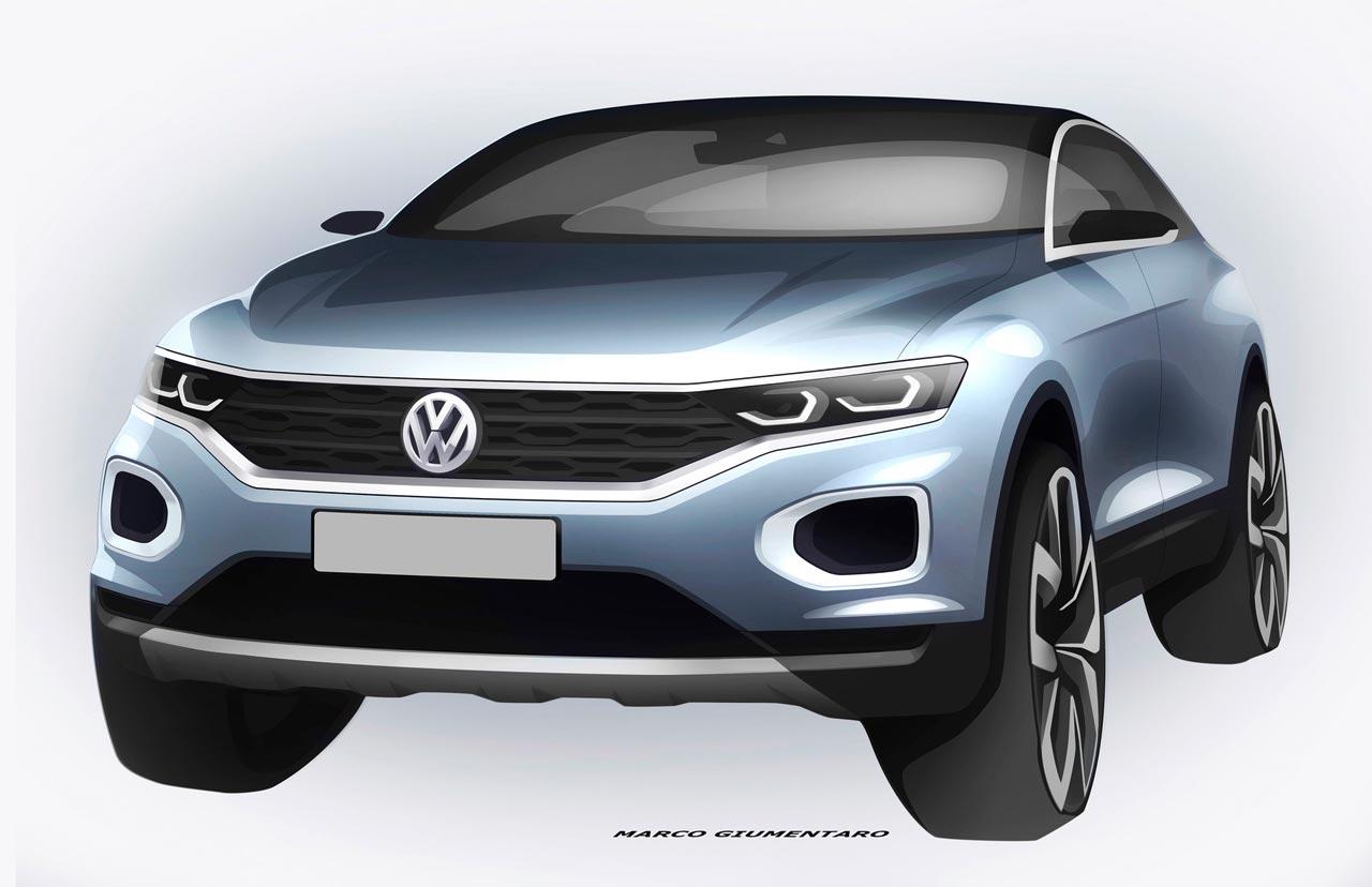 Boceto VW T-Roc