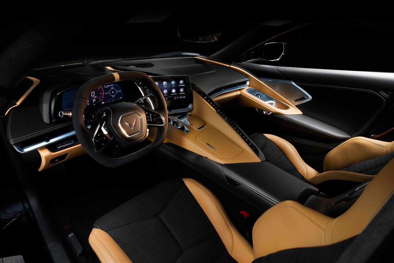 Interior Chevrolet Corvette Stingray 2020