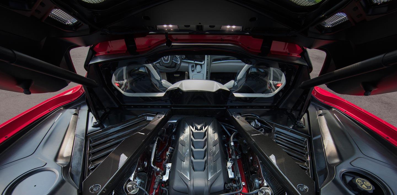 Motor central Chevrolet Corvette Stingray 2020
