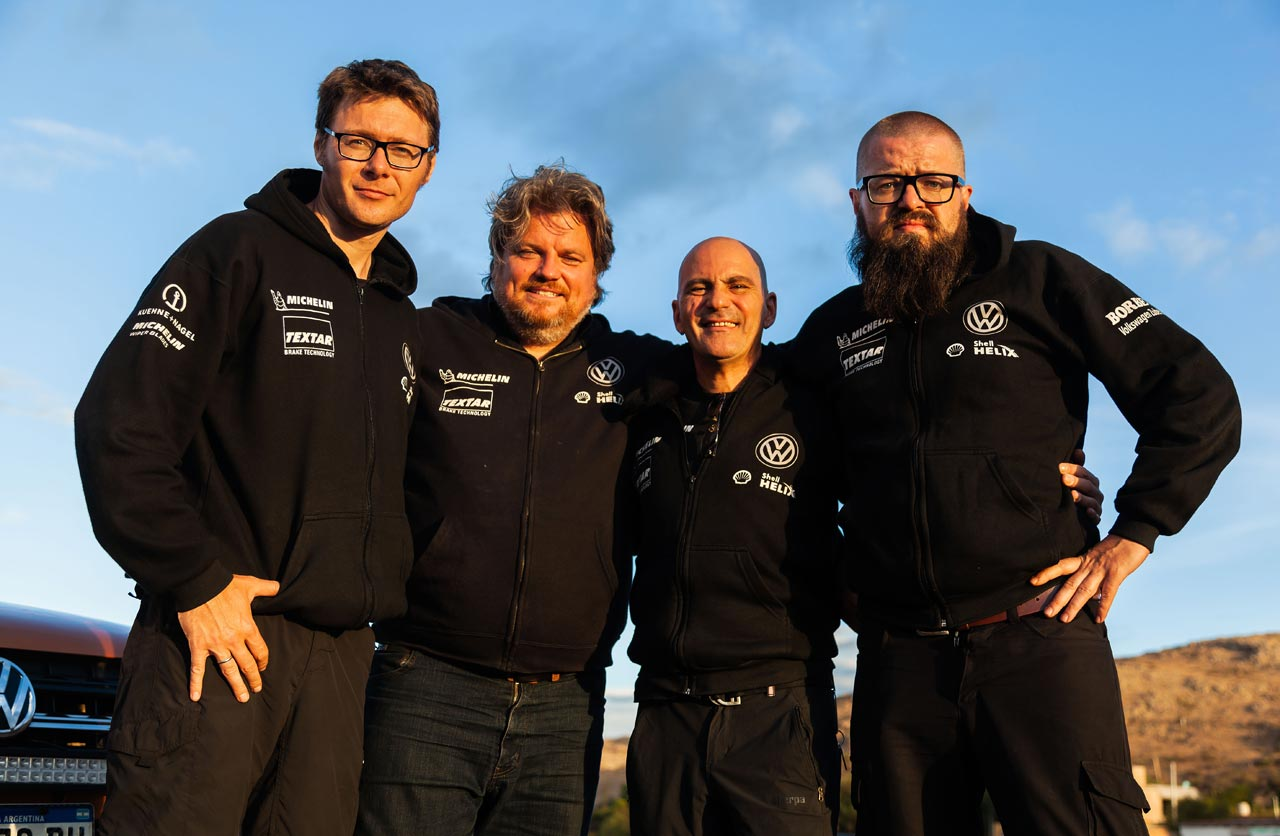Rainer Zietlow y su equipo Challenge4