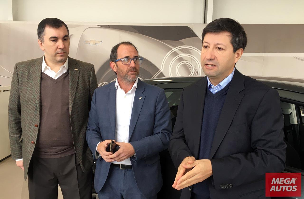 Bernardo Garcia, Sebastián Batistoni y Daniel Alvarez