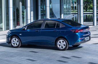Chevrolet ya luce el nuevo Onix sedán