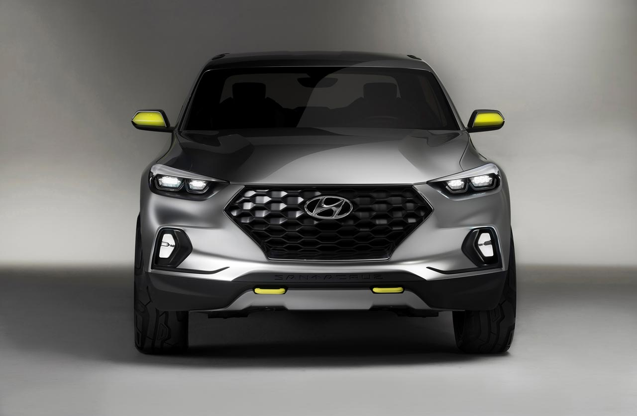 Hyundai Santa Cruz pick up concept