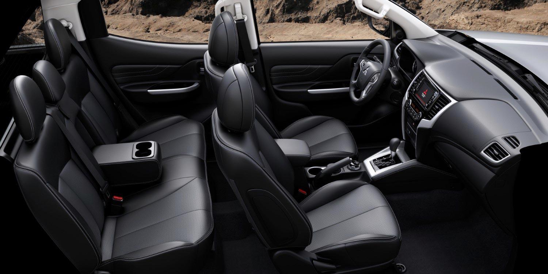 Interior Nueva Mitsubishi L200