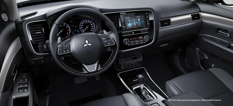 Interior Nuevo Mitsubishi Outlander