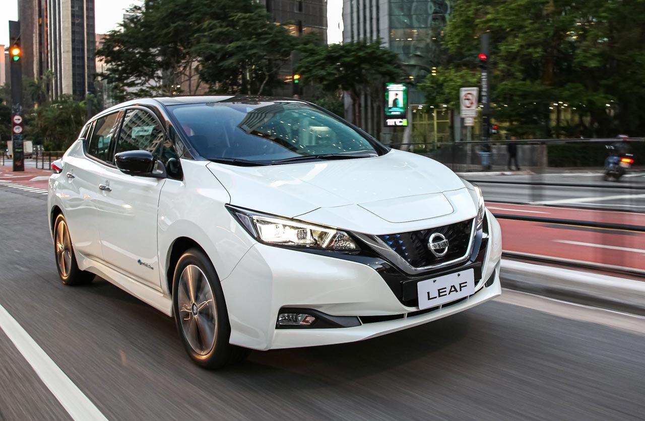 Nissan lanzó el Leaf en Argentina