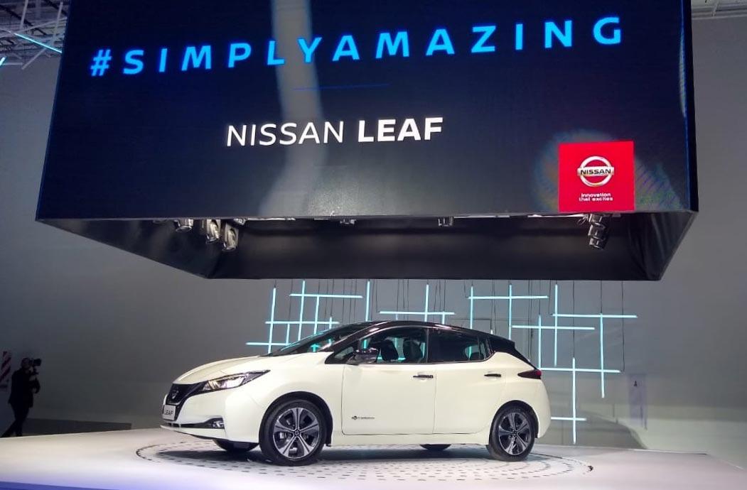 Lanzamiento Nissan Leaf