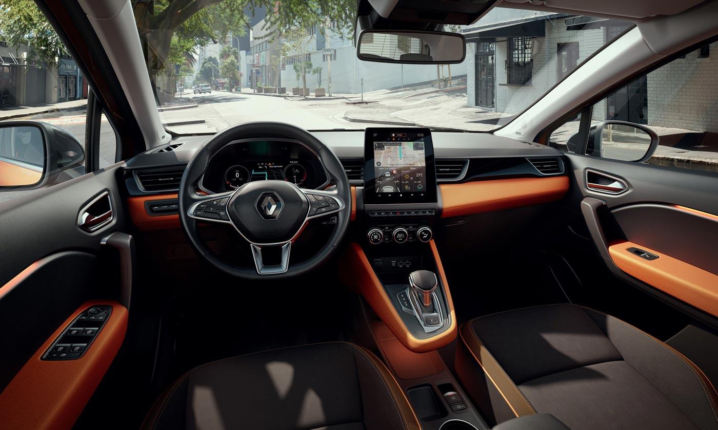 Interior Nueva Renault Captur 2020