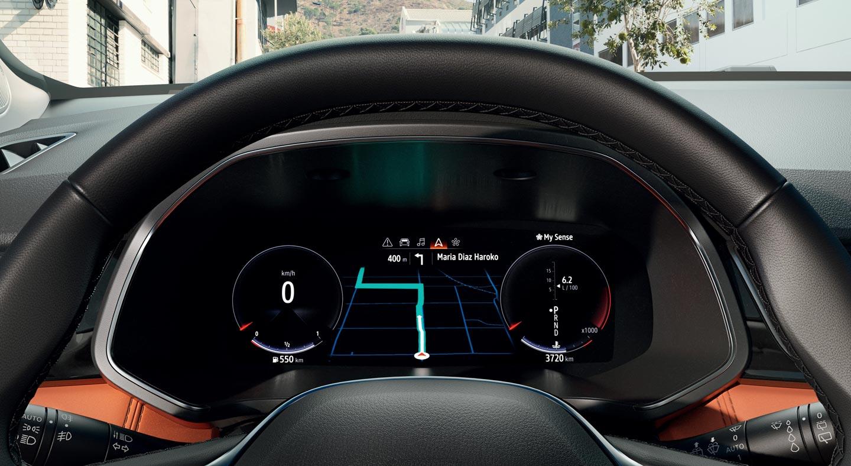 Tablero digital Nueva Renault Captur 2020