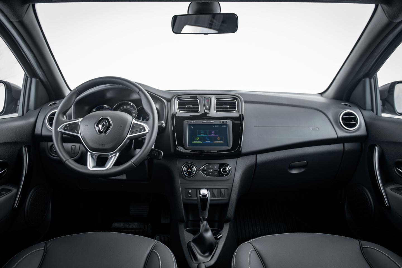 Interior Renault Logan 2020
