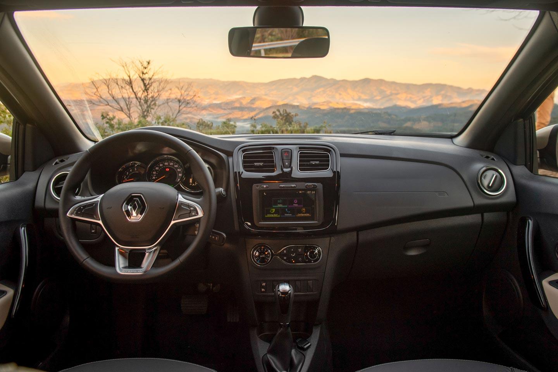 Interior Renault Sandero 2020