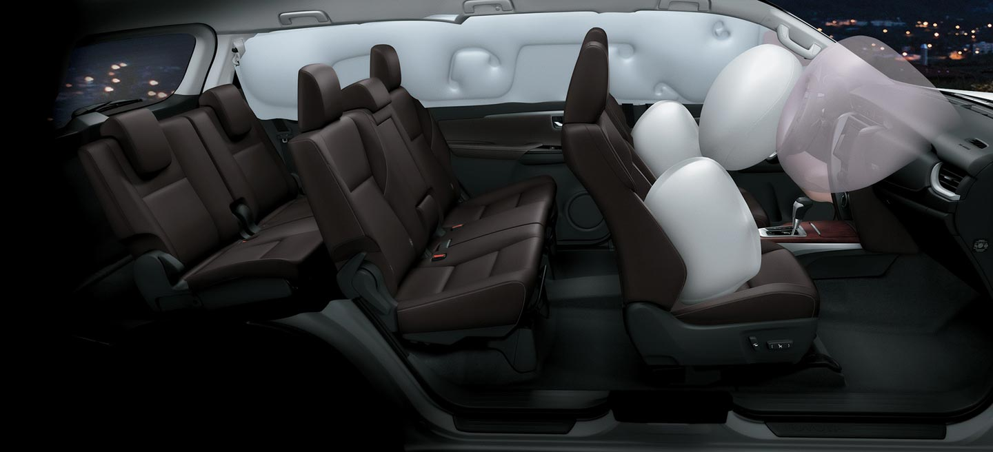 Toyota SW4 2019 airbags