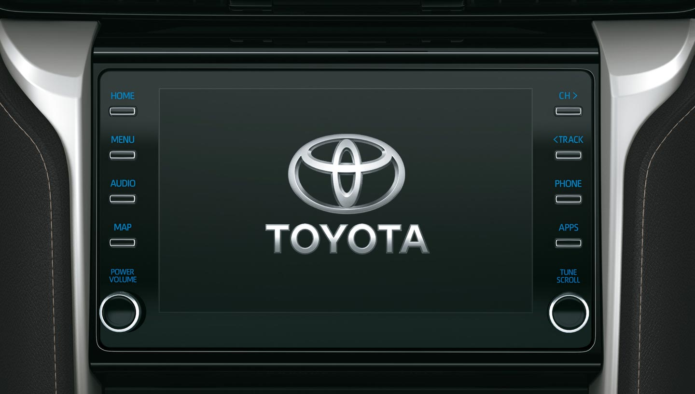 Toyota SW4 2019 - 2020 audio pantalla multimedia