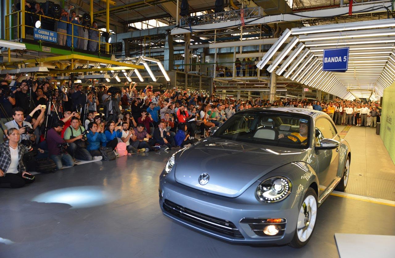 VW Beetle fin de producción en Puebla, México