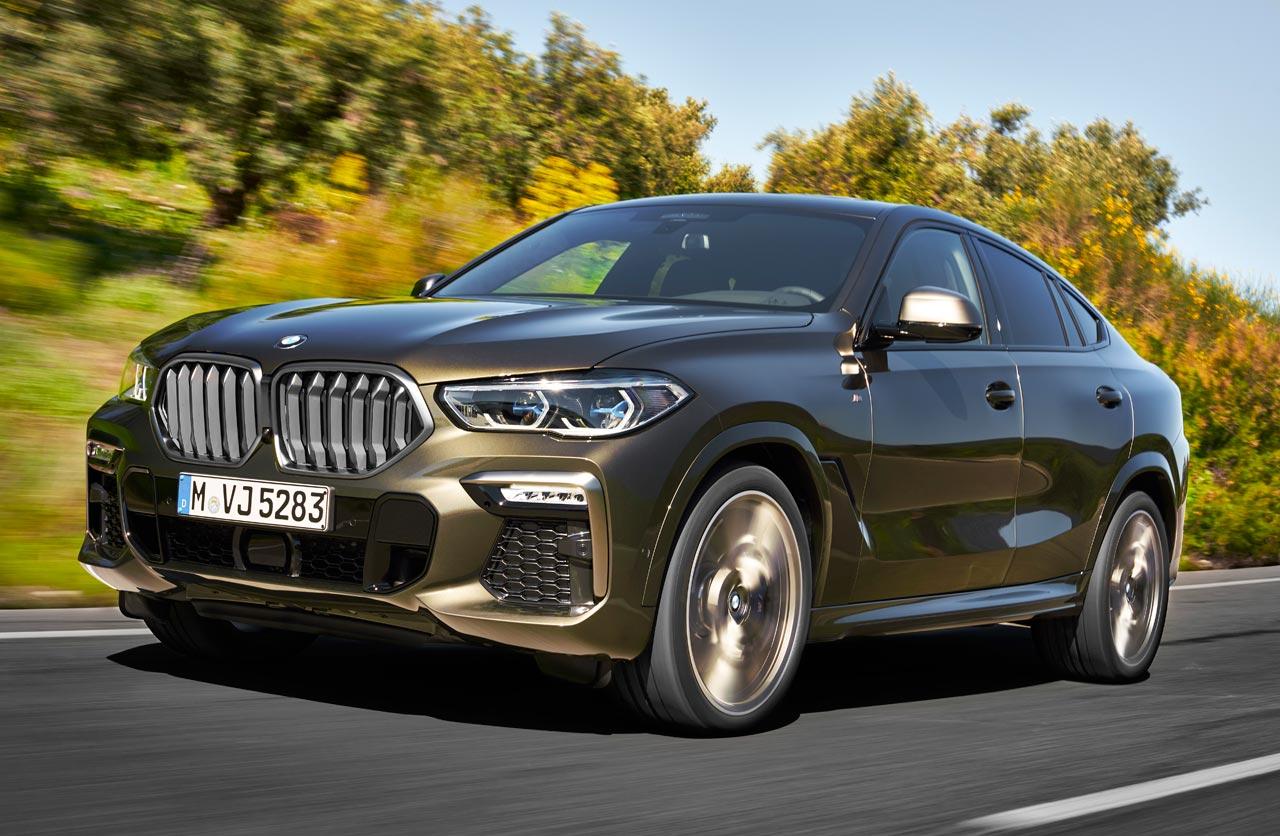 Con ustedes, el nuevo BMW X6