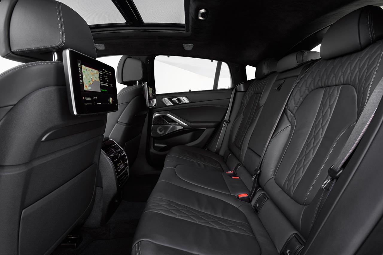 Interior nuevo BMW X6 2020