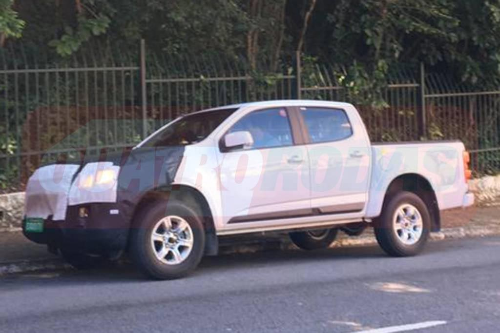 Chevrolet S10 2020 foto espía